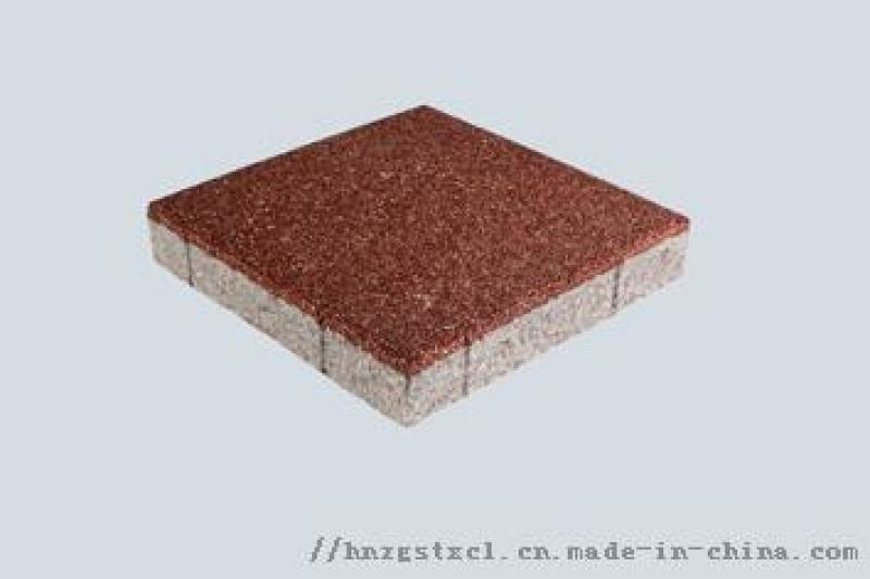 千萬不要鋪陶瓷透水磚,影響太大