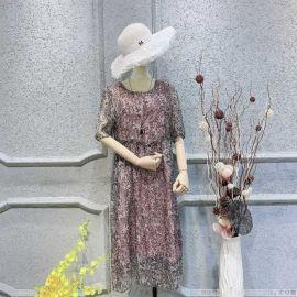 品牌女装大码唯众良品风衣库存尾货服装女式马甲日韩女装