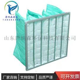 空调中效过滤器网 5个袋的中效袋式过滤器