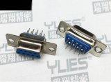 474-D-SUB连接器 母头双排180度插板式