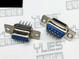 474-D-SUB連接器 母頭雙排180度插板式
