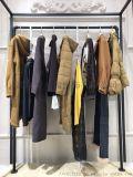 时尚品牌女装尾货古奈迪18年冬装羽绒服大衣