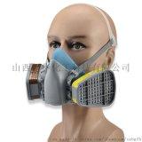 深圳邦固BG15自吸式過濾防毒面具半面罩