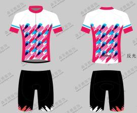 森菲雅定制户外骑行服定做自行车服装夏季短袖套装