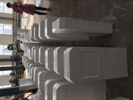 施工标志标桩 玻璃钢消防栓标志桩 禁止标牌立柱