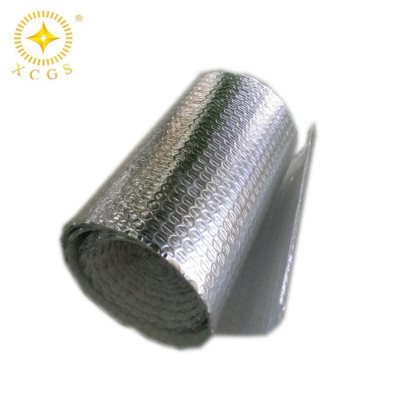 双层铝箔隔热泡沫膜 阳光房采光瓦房屋顶防晒反光隔热气泡膜