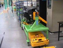 汽车仪表分装线AGV系统