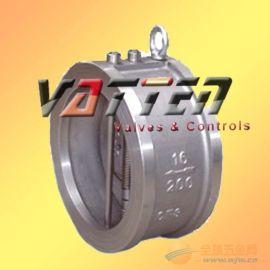 德國VATTENH76H-16P 球閥中德合資上海工廠 不銹鋼 對夾雙瓣止回閥