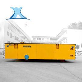 烤漆房专用电动轨道地平车 过跨车搬运车