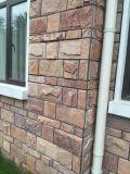 天然粉红色石材外墙砖 粉砂岩蘑菇石全国销售