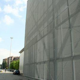 長六角裝飾網 幕牆裝飾網 外牆裝飾鋁板裝飾網