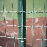 供應畜牧養殖鋼絲網 鋼絲網龍骨 綠膠皮防護網