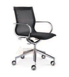 全网布铝合金框架办公椅