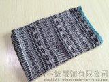 2015年德清丰锦巴厘纱新款几何图案中长款围巾
