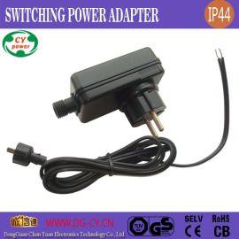 供应GS欧规IP44插墙式5V1A5W草坪激光灯开关电源,灯饰驱动电源