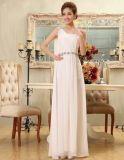 新款白色长款礼服裙
