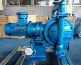 DBY电动隔膜泵 厂家品质保证 DBY-65油漆专用气动隔膜泵 油墨输送