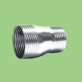 粤星管道牌锥螺纹接口不锈钢水管管材\异径直通管件