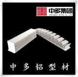 中多散熱器鋁型材鋁合金散熱片工業梳子型散熱器鋁型材定製加工