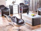工业风航空铝皮家具个性设计师金属铆钉主题餐厅KTV弧形中西餐厅沙发
