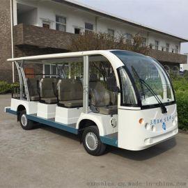嘉興11座電動觀光車,景區遊覽代步車