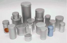 定制各种规格金属茶叶罐包装罐