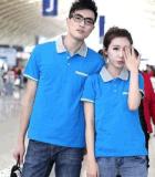 廠家直銷工作服T恤衫員工工衣定做男女短袖T恤