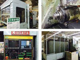 日本二手卧式加工中心谁家有, 双塔机械专业销售日本原装进口二手机床, 新泻产日本二手卧式加工中心HN63B