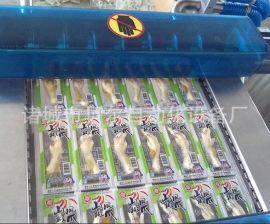 (选择熟食真空包包装机)重庆LZ420型盒式绝味鸭脖包装机,气调包装机保持装机,气调保鲜食品原有的口感、色泽、形状及营养
