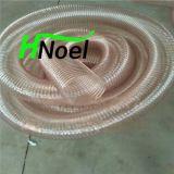 聚氨酯耐磨钢丝软管pu伸缩吸尘软管tpu耐磨损软管