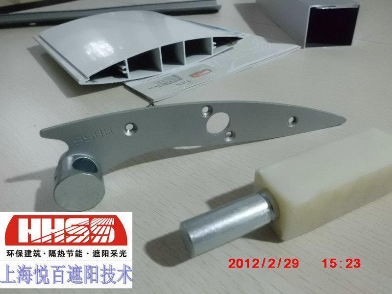 電動遮陽百葉配件材料翻板百葉配件
