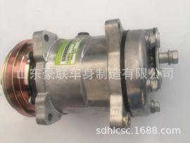 德龙空调压缩机DZ11241824101空调压缩机空调管蒸发器-压缩机连接