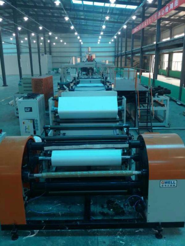 廠家熱銷ASA膜複合樹脂瓦設備 ASA流延膜擠出機歡迎來電