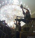南京市水晶燈及水晶吊燈專業清洗和維護