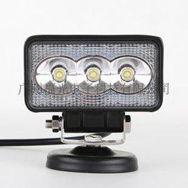 9W越野车射灯 长方形LED工作灯 汽车照明灯