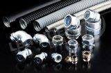 山東慶雲奧蘭機牀附件制造有限公司生產包塑穿線金屬軟管