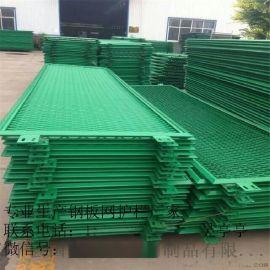 高速护栏    护栏网片      绿塑防眩网