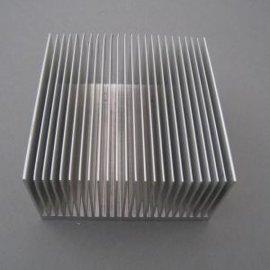 直供led梳子型高倍齿散热器铝合金型材 铝散热器铝材加工