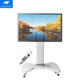 智能电视机升降架 升降翻转触摸屏一体机 液晶电视翻转可移动推车