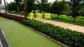 延吉市彩色透水混凝土