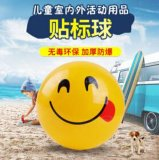 热 爆款儿童玩具球 卡通图案PVC充气球 早教儿童益智玩具球