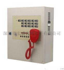 宏盛佳壁挂式多线电话主机(单门)图片/价格/厂家