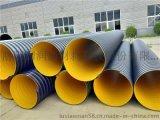 鋼帶波紋管廠家直銷 太原鋼帶排污管