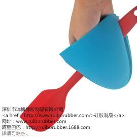 深圳厂家  烤箱硅胶隔热手套