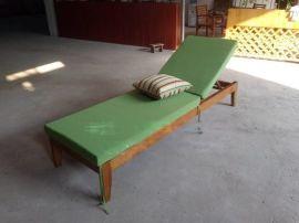 沙滩躺椅 木制沙滩椅 室外木躺闲定制厂家