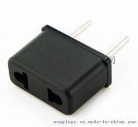 美式转欧式插头,欧标转换插座,万浦旅行转换器