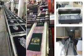 小型布料直喷数码印花机