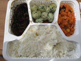 快餐盒饭包装机盒装炒菜保鲜包装机净菜保鲜包装机