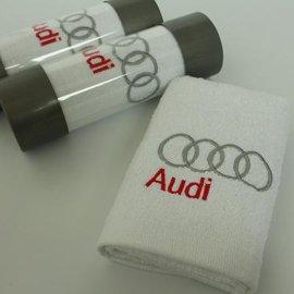 毛巾厂家直销批发定做LOGO汽车品牌广告VIP客户礼品宣传赠品毛巾