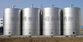 出售二手玻璃钢储罐,二手50立方不锈钢储罐